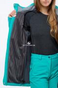 Оптом Костюм женский softshell бирюзового цвета 018125Br в Нижнем Новгороде, фото 6