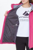 Оптом Костюм женский softshell розового цвета 018125-1R в Казани, фото 8