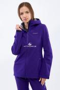 Оптом Костюм женский softshell темно-фиолетовго цвета 01816-1TF в Нижнем Новгороде, фото 2