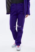 Оптом Костюм женский softshell темно-фиолетовго цвета 01816-1TF в Нижнем Новгороде, фото 4