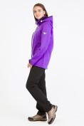 Оптом Костюм женский softshell фиолетового цвета 019077-1F, фото 3