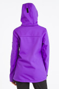 Оптом Костюм женский softshell фиолетового цвета 019077-1F, фото 4