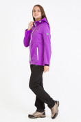 Оптом Костюм женский softshell фиолетового цвета 019077F в  Красноярске, фото 3