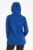 Оптом Костюм женский softshell синего цвета 019077S в  Красноярске, фото 4