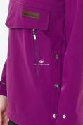 Оптом Костюм анорак женский softshell фиолетового цвета 01914F в Нижнем Новгороде, фото 8