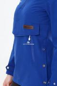 Оптом Костюм анорак женский softshell темно-синего цвета 01914TS, фото 4