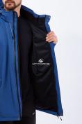 Оптом Костюм мужской большого размера softshell темно-синего цвета 01921TS в Казани, фото 5