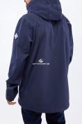 Оптом Костюм мужской большого размера softshell темно-синего цвета 01921TS, фото 3