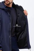 Оптом Костюм мужской большого размера softshell темно-синего цвета 01921TS, фото 9