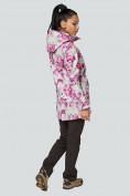 Оптом Костюм женский softshell розового цвета 01922-2R в Екатеринбурге, фото 4