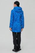 Оптом Костюм женский softshell синего цвета 019221S в Екатеринбурге, фото 4
