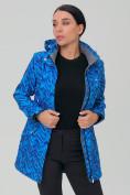 Оптом Костюм женский softshell синего цвета 019221S в Екатеринбурге, фото 6