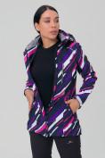 Оптом Костюм женский softshell фиолетового цвета 01923-1F в  Красноярске, фото 6