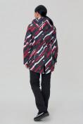 Оптом Костюм женский softshell красного цвета 01923-1Kr в Нижнем Новгороде, фото 4