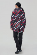 Оптом Костюм женский softshell красного цвета 01923-1Kr, фото 4
