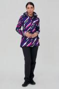 Оптом Костюм женский softshell фиолетового цвета 01923-1F в  Красноярске