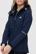 Оптом Ветровка MTFORCE женская темно-синего цвета 2038-1TS в Казани, фото 11