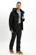 Оптом Горнолыжный костюм мужской MTFORCE черного цвета 02088Ch в Екатеринбурге, фото 9