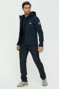 Оптом Комплект верхней одежды MTFORCE темно-синего цвета 02105TS, фото 2