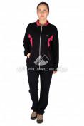 Интернет магазин MTFORCE.ru предлагает купить оптом спортивный костюм женский большого размера черного цвета 0022Ch по выгодной и доступной цене с доставкой по всей России и СНГ