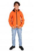 Интернет магазин MTFORCE.ru предлагает купить оптом куртка ветровка подростковая для мальчика оранжевого цвета 034-2O по выгодной и доступной цене с доставкой по всей России и СНГ