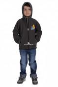 Интернет магазин MTFORCE.ru предлагает купить оптом куртку ветровку детскую темно--серого цвета 034-1TC по выгодной и доступной цене с доставкой по всей России и СНГ