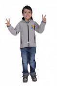Интернет магазин MTFORCE.ru предлагает купить оптом куртку ветровку детскую светло-серого цвета 034-1Ss по выгодной и доступной цене с доставкой по всей России и СНГ