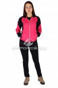 Интернет магазин MTFORCE.ru предлагает купить оптом спортивный трикотажный костюм женский розового цвета 0050R по выгодной и доступной цене с доставкой по всей России и СНГ