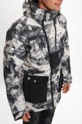 Оптом Молодежная зимняя куртка мужская бежевого цвета 059B в Екатеринбурге, фото 9