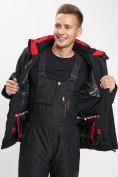 Оптом Горнолыжный костюм мужской черного цвета 077010Ch в Екатеринбурге, фото 11
