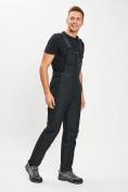 Оптом Горнолыжный костюм мужской черного цвета 077010Ch в Екатеринбурге, фото 8