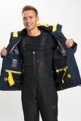 Оптом Горнолыжный костюм мужской темно-синего цвета 077010TS в Екатеринбурге, фото 11