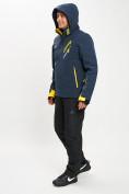 Оптом Горнолыжный костюм мужской темно-синего цвета 077010TS в Екатеринбурге, фото 7