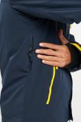 Оптом Горнолыжный костюм мужской темно-синего цвета 077010TS в Екатеринбурге, фото 9