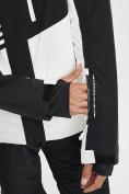 Оптом Горнолыжный костюм мужской белого цвета 077012Bl в Екатеринбурге, фото 11