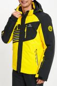 Оптом Горнолыжный костюм мужской желтого цвета 077012J в Екатеринбурге, фото 6