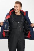 Оптом Горнолыжный костюм мужской красного цвета 077012Kr в Екатеринбурге, фото 11