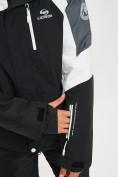 Оптом Горнолыжный костюм мужской белого цвета 077013Bl в Екатеринбурге, фото 6