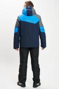 Оптом Горнолыжный костюм мужской синего цвета 077013S в Екатеринбурге, фото 5