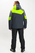 Оптом Горнолыжный костюм мужской зеленого цвета 077013Z в Екатеринбурге, фото 5