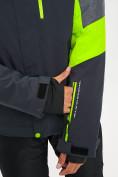 Оптом Горнолыжный костюм мужской зеленого цвета 077013Z в Екатеринбурге, фото 8