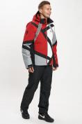 Оптом Горнолыжный костюм мужской красного цвета 077015Kr в Екатеринбурге, фото 5