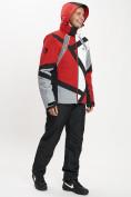 Оптом Горнолыжный костюм мужской красного цвета 077015Kr в Екатеринбурге, фото 7