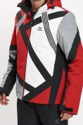Оптом Горнолыжный костюм мужской красного цвета 077015Kr в Екатеринбурге, фото 9