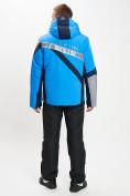 Оптом Горнолыжный костюм мужской синего цвета 077015S в Екатеринбурге, фото 5
