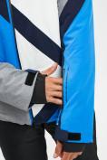 Оптом Горнолыжный костюм мужской синего цвета 077015S в Екатеринбурге, фото 8