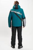 Оптом Горнолыжный костюм мужской темно-зеленого цвета 077015TZ в Екатеринбурге, фото 6