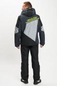Оптом Горнолыжный костюм мужской темно-серого цвета 077016TC в Екатеринбурге, фото 5