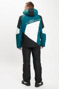 Оптом Горнолыжный костюм мужской темно-зеленого цвета 077016TZ в Екатеринбурге, фото 6