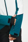 Оптом Горнолыжный костюм мужской темно-зеленого цвета 077016TZ в Екатеринбурге, фото 8